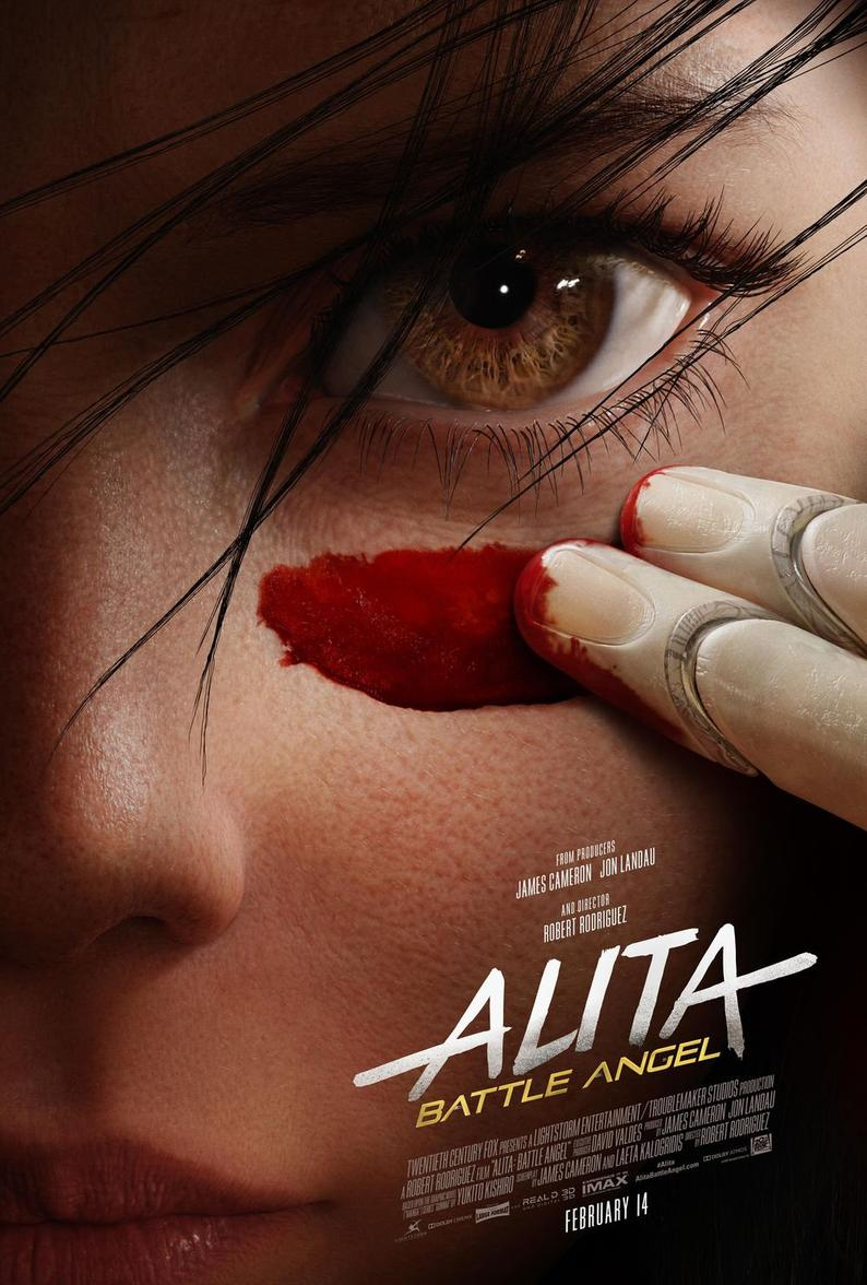 Alita - Battle Angel Poster