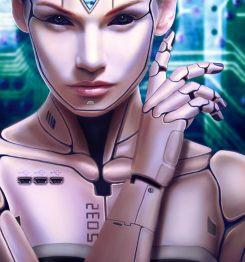 Cyborg Girl 01