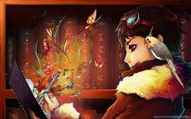 Writer Girl 01