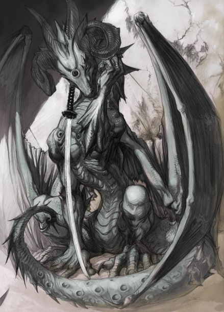 Dragon, Gray 02