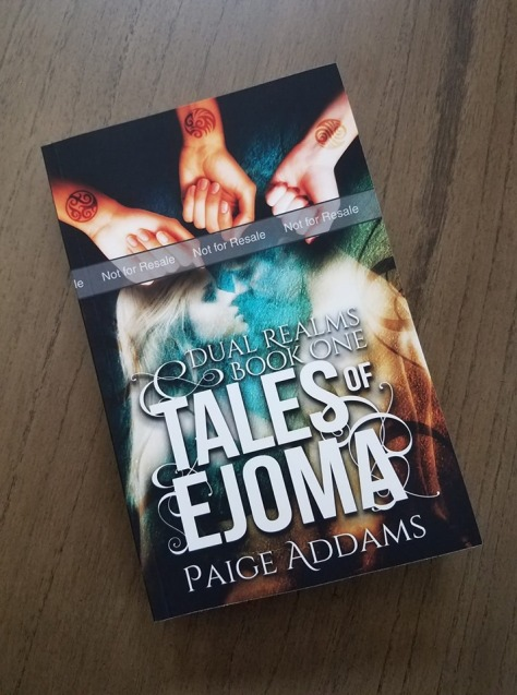 Tales of Ejoma Paperback Proof